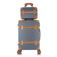 Для путешествий багаж Обтекателя втулки 2 шт./компл. 14 дюймов косметичка 20/22/24/26 дюймов для девушек-студенток от чемодан на колесиках чемодан