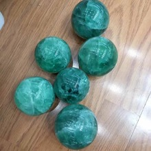 2019 hot 1pcs 60MM 100% Natural green Fluorite Quartz Crystal Healing ball Free shipping