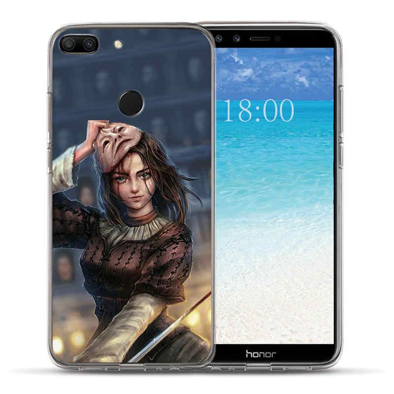 """Игра престолов Старк знак чехол для Huawei Honor 8 9 10 Lite 9i 8C 8A 8X7 7A 7C 7X 6A 6X мягкий чехол для телефона из ТПУ с принтом """"Coque fundas для Чехлы"""