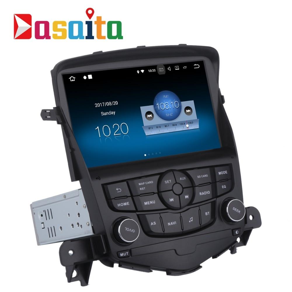 Dasaita 8 Android 8,1 Автомобильный gps плеер Navi для Chevrolet Cruze 2008 2011 с г 2 г + 16 г 4 ядра авто стерео радио мультимедиа