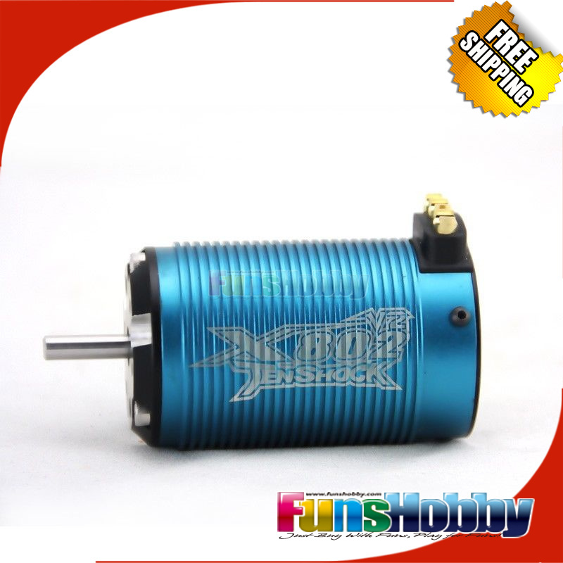 Buy tenshock x802v2 1 8 6 pole rc for Brushless dc motor suppliers