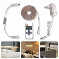 LED Under Cabinet Lighting Kit Waterproof LED Strip Dimmable with RF 10keys Remote Controller for Kitchen/Cupboard/Closet Light