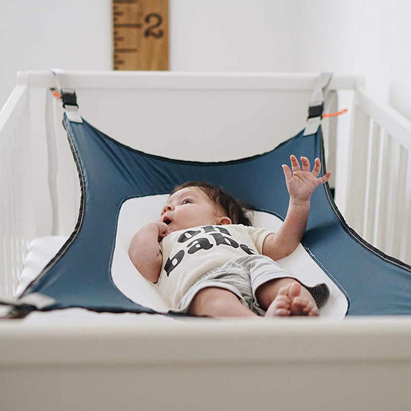 Cacat Baby Swing Detachable Baby Hammock Portable Folding Cotton Sleeping Bed Garden Swing for Outdoor
