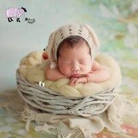 Новорожденный ребенок Фотография деревянная корзина реквизит младенец девочка мальчик фото для студийной съемки корзина реквизит bebe foto ст