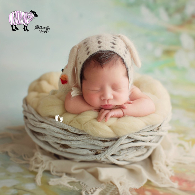Newborn Baby Photography Wooden Basket Props Infant Baby Girl Boy Photo Shoot Studio Basket Props bebe foto Shooting AccessoriesNewborn Baby Photography Wooden Basket Props Infant Baby Girl Boy Photo Shoot Studio Basket Props bebe foto Shooting Accessories