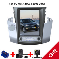 12,1 Тесла Тип Android 7,1 подходит TOYOTA RAV4 2006 2007 2008 2009 2010 2011 2012 Авто/C dvd плеер навигационная gps радио