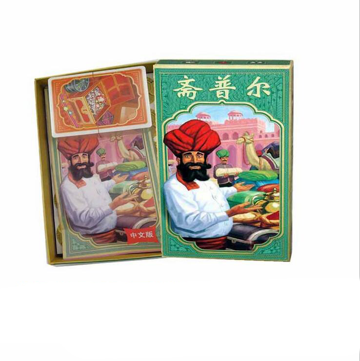 Jaipur Jewelry Trading Board Game High Quality Best Card Game For Family Entertainment Playing Cards To 2 Players