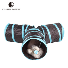 New 2016 Cats Tunnel Toys Home Indoor Pet Cats Training Toys