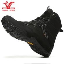 купить Men Hiking Shoes Winter Outdoor Walking Jogging Shoes Mountain Sport Boots Climbing Sneakers Boots Free Shipping hunting boots дешево