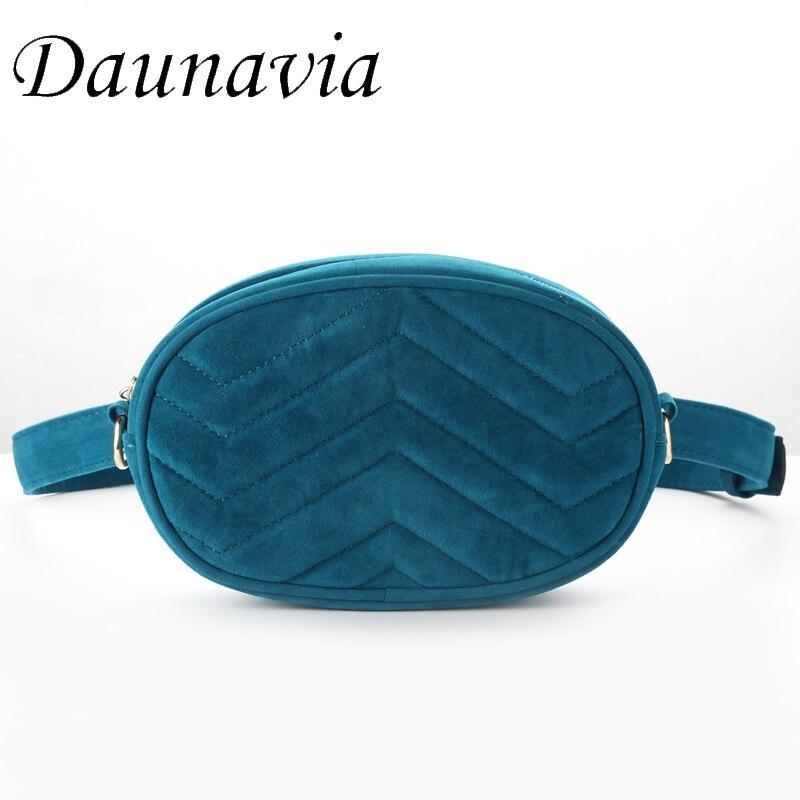 New-Bag Waist-Pack Round Fashion-Designer Women Luxury Female Corduroy for Brand-New