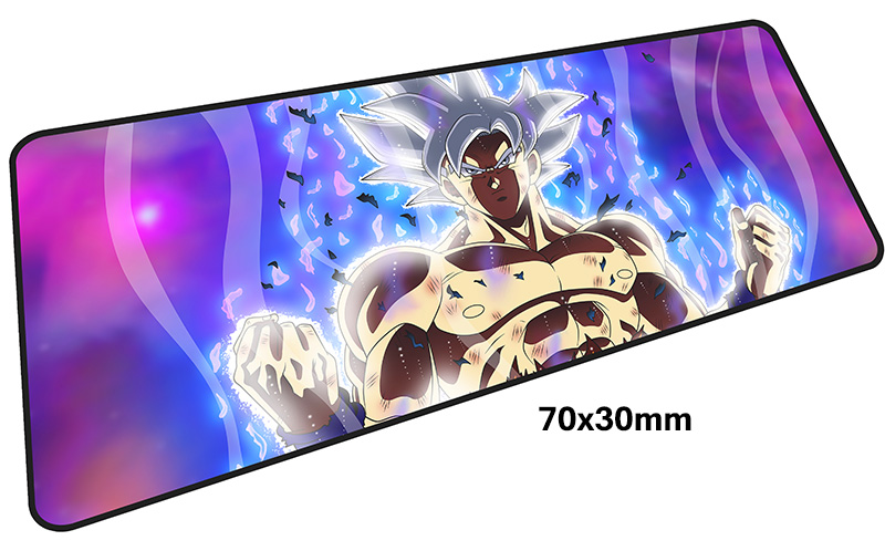 лучшая цена DRAGON BALL mouse pad gamer 700x300mm anime notbook mouse mat large gaming mousepad large HD pattern pad mouse PC desk padmouse