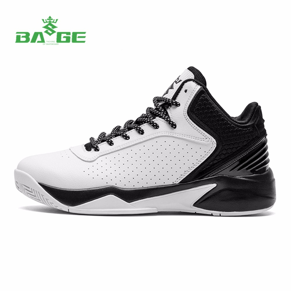 Bage Men's Professional Basketball Shoes Support Sport Shoes 2017 Summer Breathable High-Top Basketball Sneakers Male Plus Size original li ning men professional basketball shoes