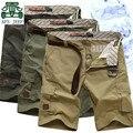 AFS JEEP Original Brand Men's Summer mid waist Shorts,Mid Waist 100% Cotton Good Quality Cargo Shorts,Worker's Cargo Shorts