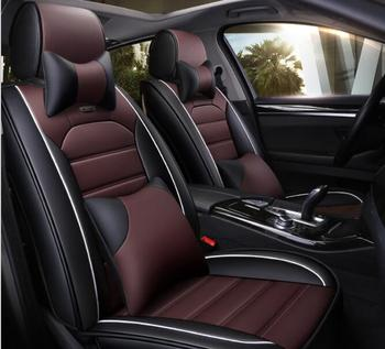 Car Travel New car seat covers Pu leather material made by the seat covers universal car seat cover for car nissan all style