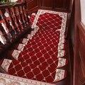 Коврик для лестниц из цельного дерева  нескользящий коврик для лестниц  самоклеящийся домашний коврик  простой современный ковер для лестн...