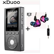 XDUOO X10 MP3 Professionnel Lecteur Audio Lossless HIFI Musique MP3 DAC DSD Haute Résolution Lecteur 2.0 Pouce Écran 256G 192 KHz/24Bit
