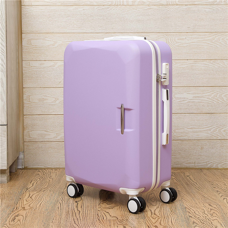 Fashion business 2024 inches trolley case ABS+PC students Pull rod box Travel luggage rolling suitcase Password Boarding box new 2024 inches business trolley case pc students travel luggage mute spinner rolling suitcase combination lock boarding box