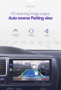 """Image 5 - 2 din Autoradio miroir lien Android 9.0 écran tactile affichage numérique 7 """"HD lecteur MP5 Bluetooth multimédia USB 2din Autoradio"""