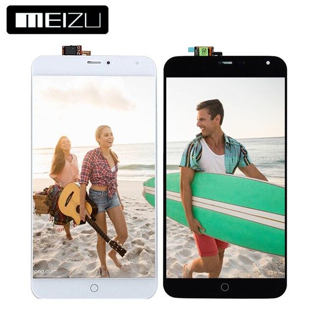 5.36 дюймов 1920x1152 ЖК-дисплей для Meizu MX4 ЖК-дисплей Дисплей Сенсорный экран планшета Ассамблеи ЖК-дисплей для Meizu MX4 Дисплей 100% тесты гарантии