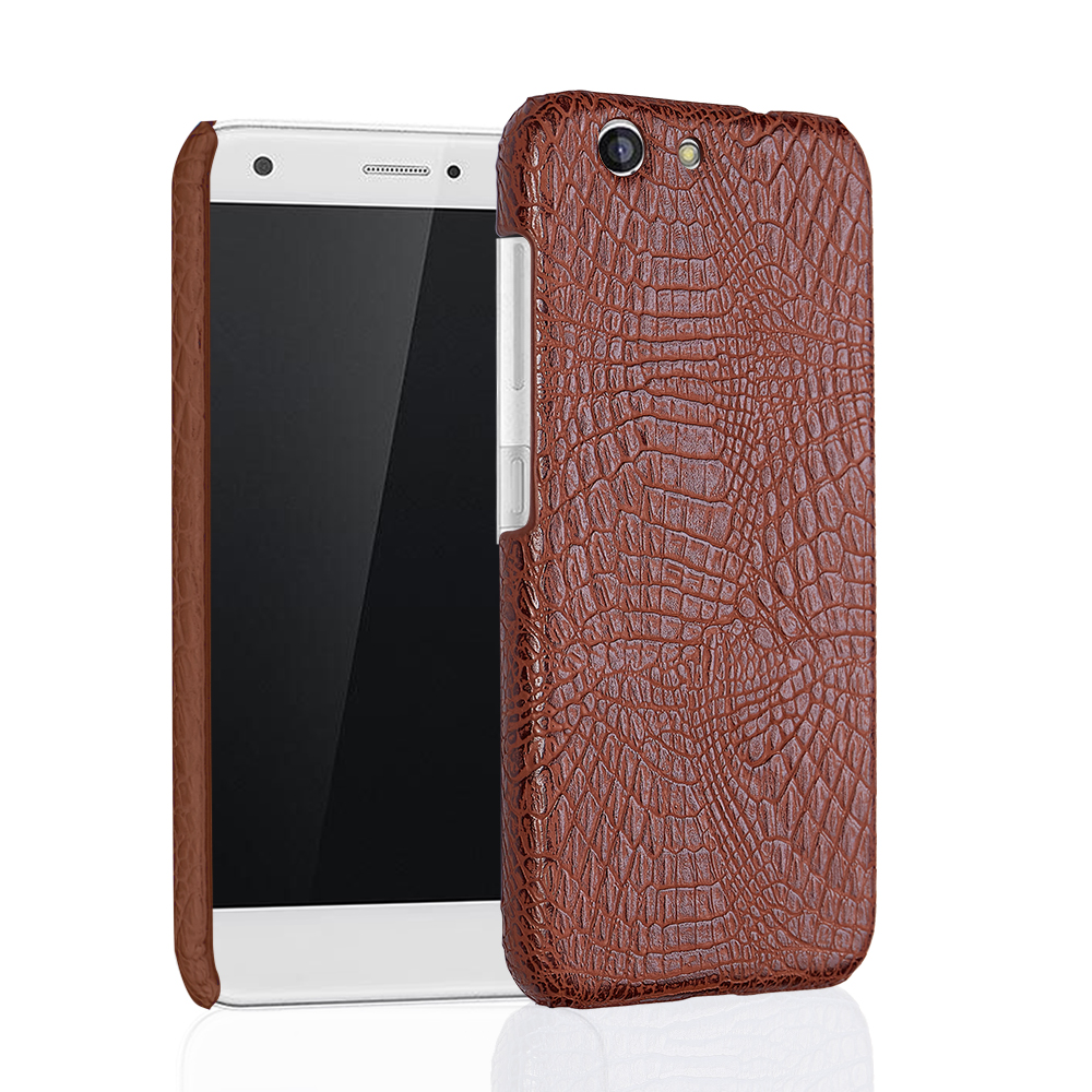 For ZTE Blade A512 case crocodile pattern PU skin leather Luxury business phone cover coque capa in Half wrapped Cases from Cellphones Telecommunications