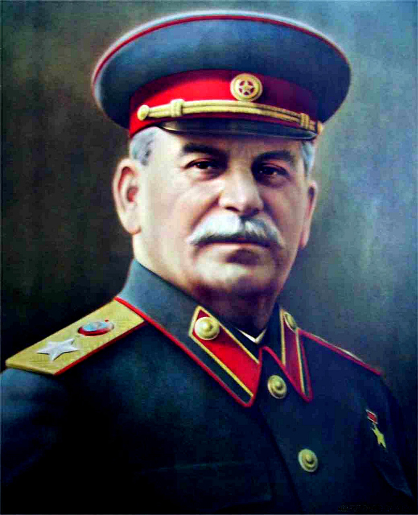 Stalin Oil Painting