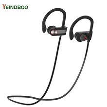 YEINDBOO super Bass Bluetooth Headphones Wireless Earphone IPX7 Waterproof For Sports Phone With Mic
