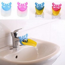 1PC Bathroom Sink Faucet Extender Crab Shape For Children Kid Washing Hands