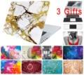 Cerebro de estrellas pintura de mármol duro caso para macbook air pro 11 12 13 15 Colores Táctil Retina Mate Cubierta De Madera Portátil Proteger Shell