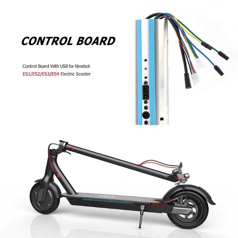 Control Board With USB ES 1 Dashboard for Ninebot ES1/ES2/ES3/ES4 Electric Scooter