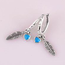 fff62b23b Buy pandora feather earrings and get free shipping on AliExpress.com