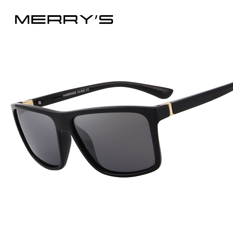 ca142b6c7e MERRY S DESIGN Men Polarized Sunglasses Fashion Male Eyewear 100% UV  Protection S 8225
