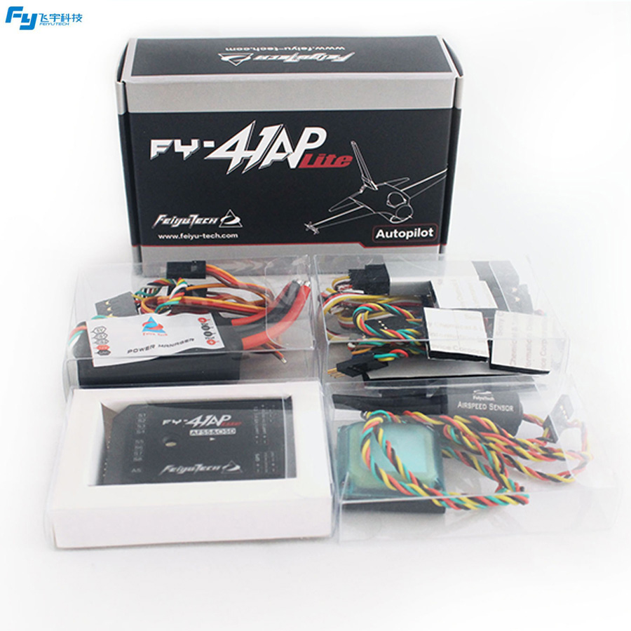 Feiyu Tech FY-41AP Lite & OSD Autopilot Flight Control System For Fix wing feiyu tech fy wg lite single axis