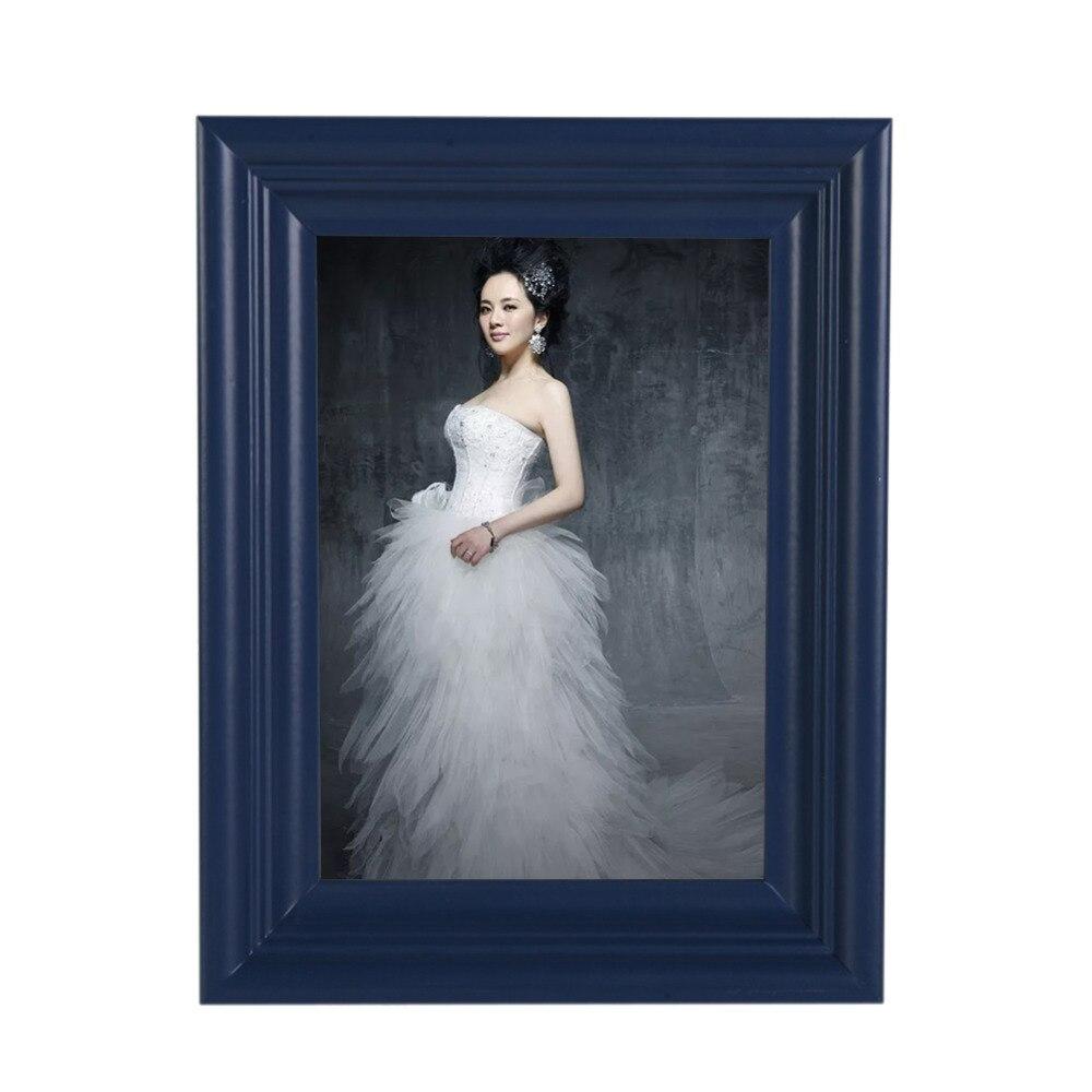 Hohe Qualität Blau Bilderrahmen Online Personalisierte Kreative Holz ...
