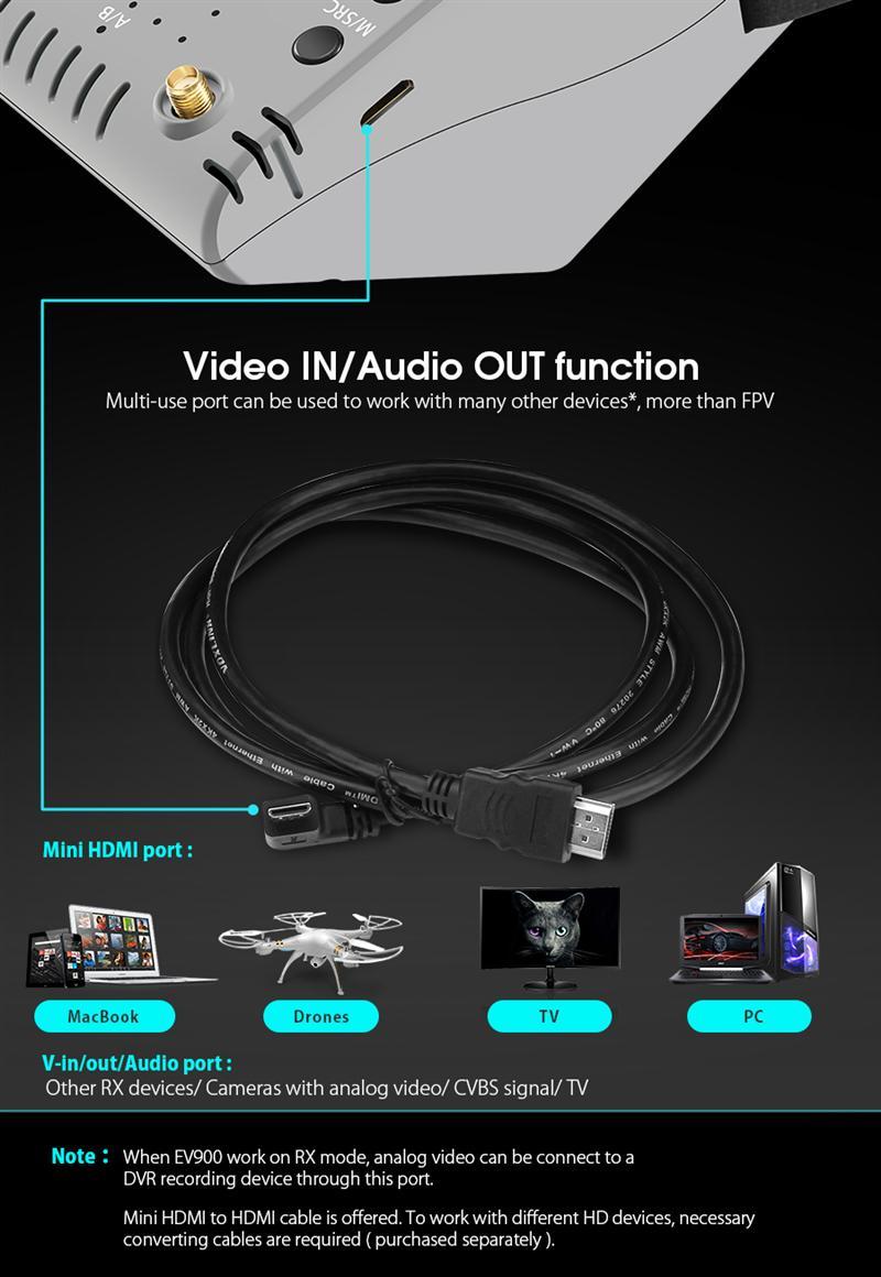 HTB16UXBdqmWBuNjy1Xaq6xCbXXa2 - EachineEV900 1920 * 1080 HD 5.8G 40CH HDMI AR VR FPVゴーグル5インチディスプレイ内蔵2400mAhバッテリー S81270784