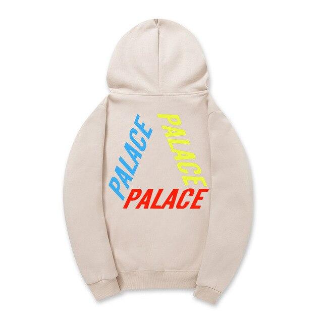Hot 2017 Winter PALACEr Hoodie Men's Palace Skateboards Flame Magazine Sweatshirts Gosha Harajuku Hip Hop PALACE Hoodie s Men