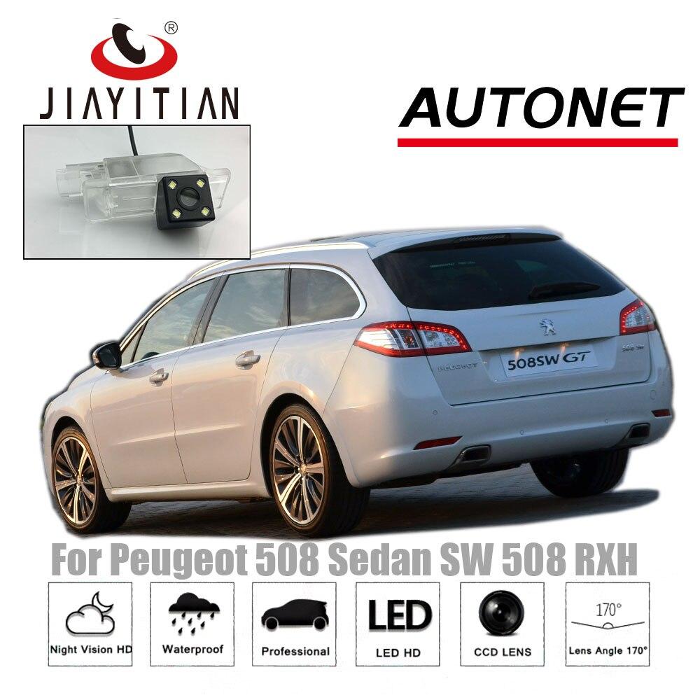 JIAYITIAN Rear View Camera For Peugeot 508 sedan 508 SW 508 RXH 2011~2018 Night Vision CCD/ Backup Camera license plate camera футболка lerros 3833121 508