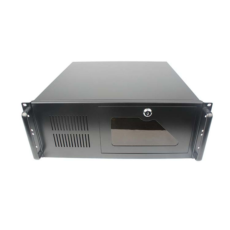 все цены на 4U450 DVR Computer case Industrial Server monitoring equipment thickening 1.2MM Black / White Support 19-inch standard rack онлайн