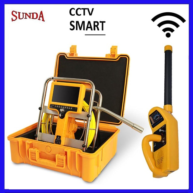 Sewer Camera For Sale >> Us 1121 0 512hz Locator Sonde Camera Cctv Hot Sale Pipe Inspection Camera Drain Sewer Camera 7inch Lcd Monitor Long Spring 23mm Camera In