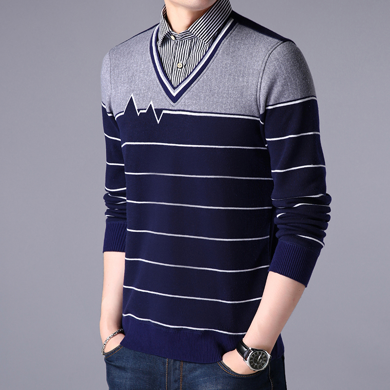 Fashion cashmere and thick shirt  Two warm shirts for men  Business Casual