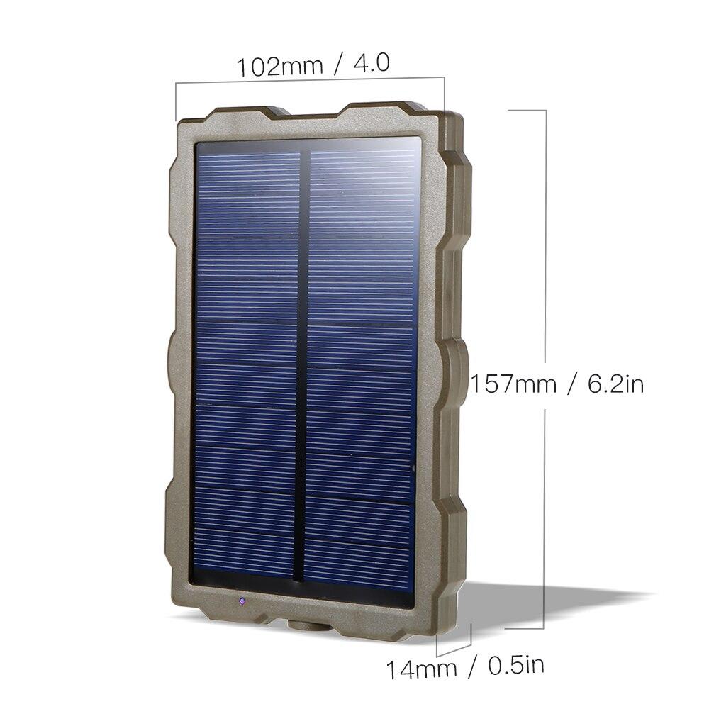 Наружная охотничья камера, батарея, солнечная панель, зарядное устройство, внешняя панель питания для дикой камеры, фотовспышки H801 H885 H9 H3 H501
