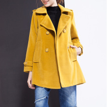 Clearance Double Breasted Trench Coat Women For Long casaco feminino mode femme