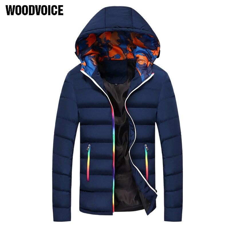 New Fashion Men's Cotton Overcoat Winter Thicken Jacket Men Coat Male Down Jacket Hooded   Parkas   Hombre Padded Plus Size Mantel