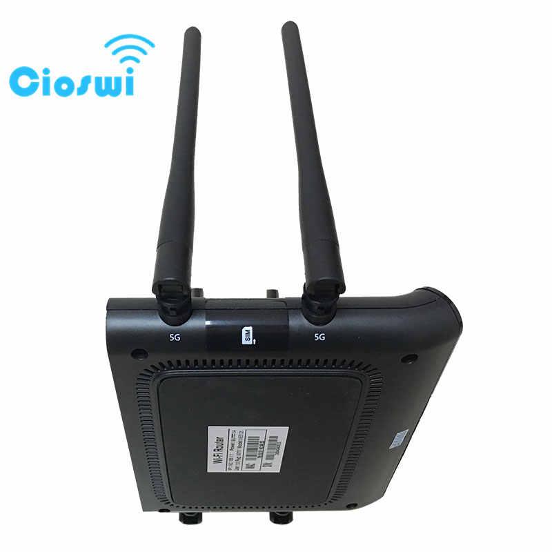 Cioswi Openwrt Yönlendirici 1200 Mbps Kablosuz Yönlendirici 5 Ghz Akıllı App Yönetmek WIFI yönlendirici Geniş Kapsama 802.11ac Desteği DDNS/WPS