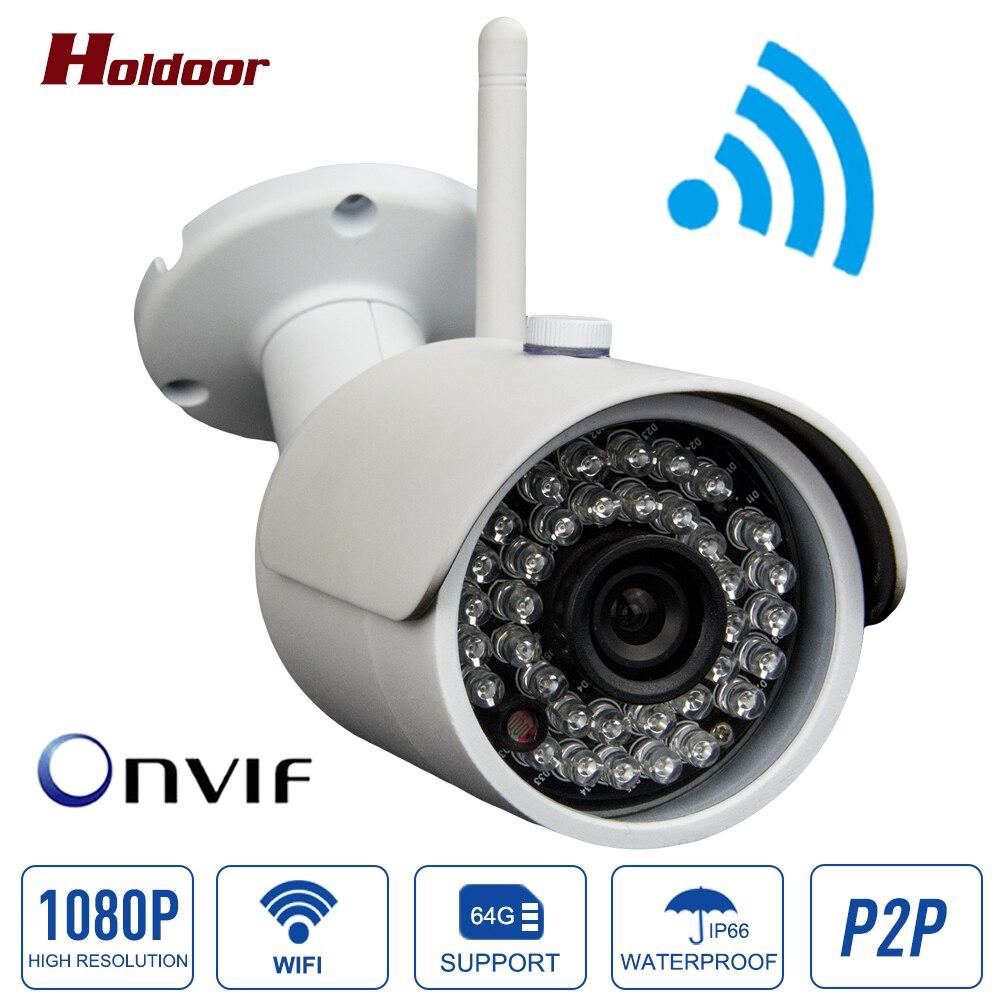 imágenes para Cámara IP 1080 P WIFI H.264 HD Cámara Impermeable Al Aire Libre del CCTV IR de La Visión Nocturna de Vigilancia de Vídeo de Cámaras de Seguridad