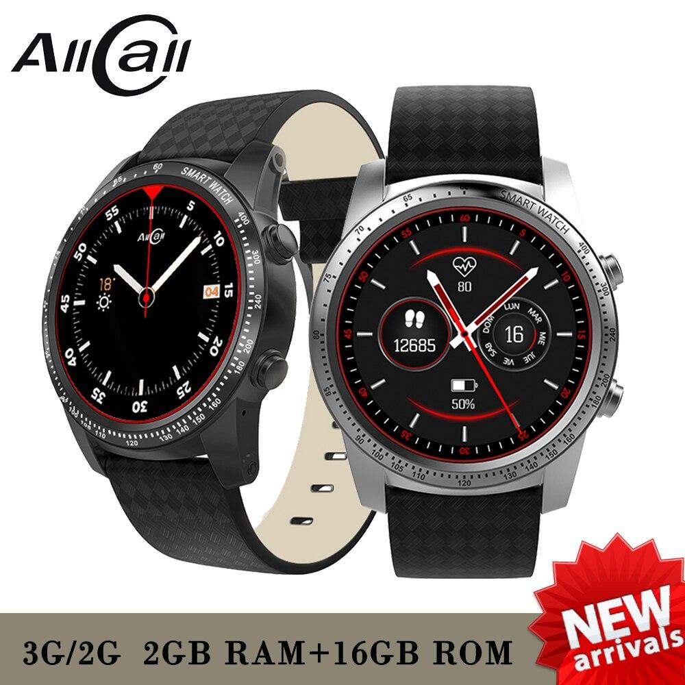 AllCall W1 2GB RAM 16GB ROM 1 39 AMOLED screen Heart Rate Phone Smart Watch GPS