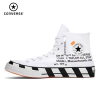 CONVERSE X OFF WHITE Chuck Taylor 1970s Men Skateboarding Shoes Comfortable Anti Slippery Outdoor Sneakers Women #163862C