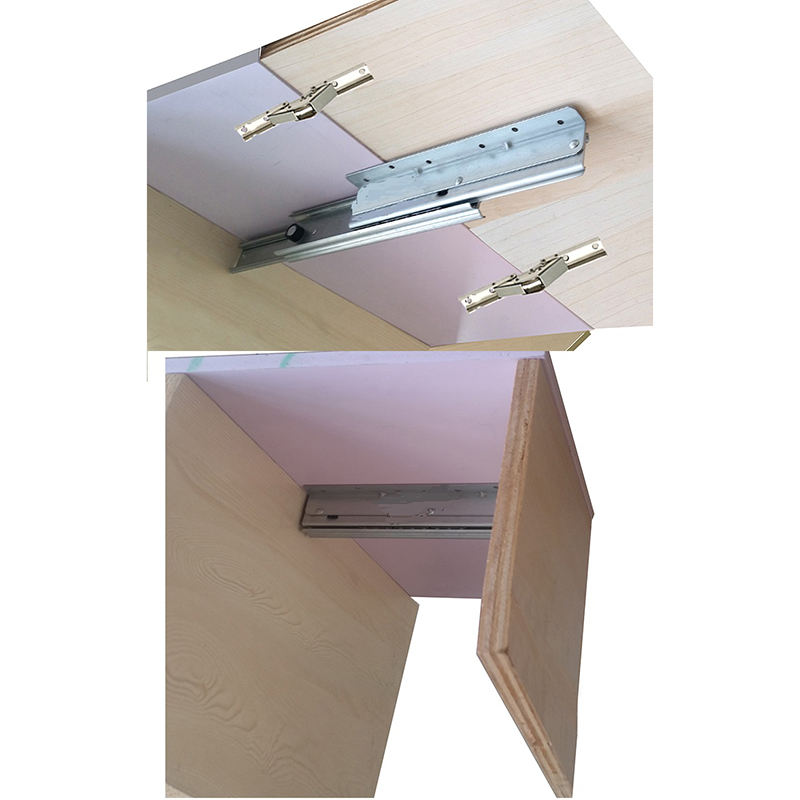 (1 Slide+2 Hinges)/Lot Extendable Table Slide Hardware Fitting Table Top Extension RV Folding Table