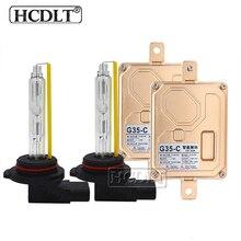 HCDLT 12V Car Headlight Canbus HID Xenon Kit 35W H1 H3 H7 H11 9005 9006 9012 D2H Xenon Bulb 5500K EMC 35W Canbus Ballast Reactor