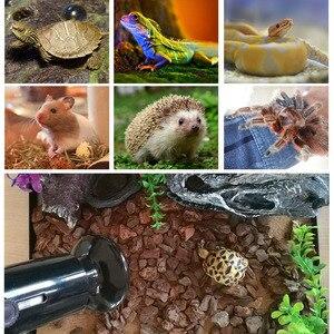 1 шт. утолщенная инфракрасная керамическая лампа для рептилий обогреватель для домашних животных змеиная Черепаха Ящерица нагревательное оборудование принадлежности для рептилий 25-200