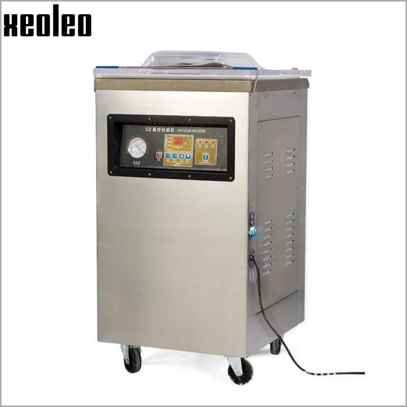 Xeoleo unique pièce sous vide machine à emballer DZ-400 Commercial sous vide alimentaire scellant sous vide machine d'emballage alimentaire 220 V